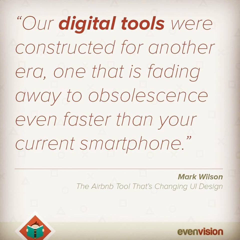 Design Quote for EvenVision's Blog - What we are Reading.